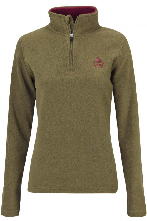 Berg Outdoor Kluane Half Zip Woman